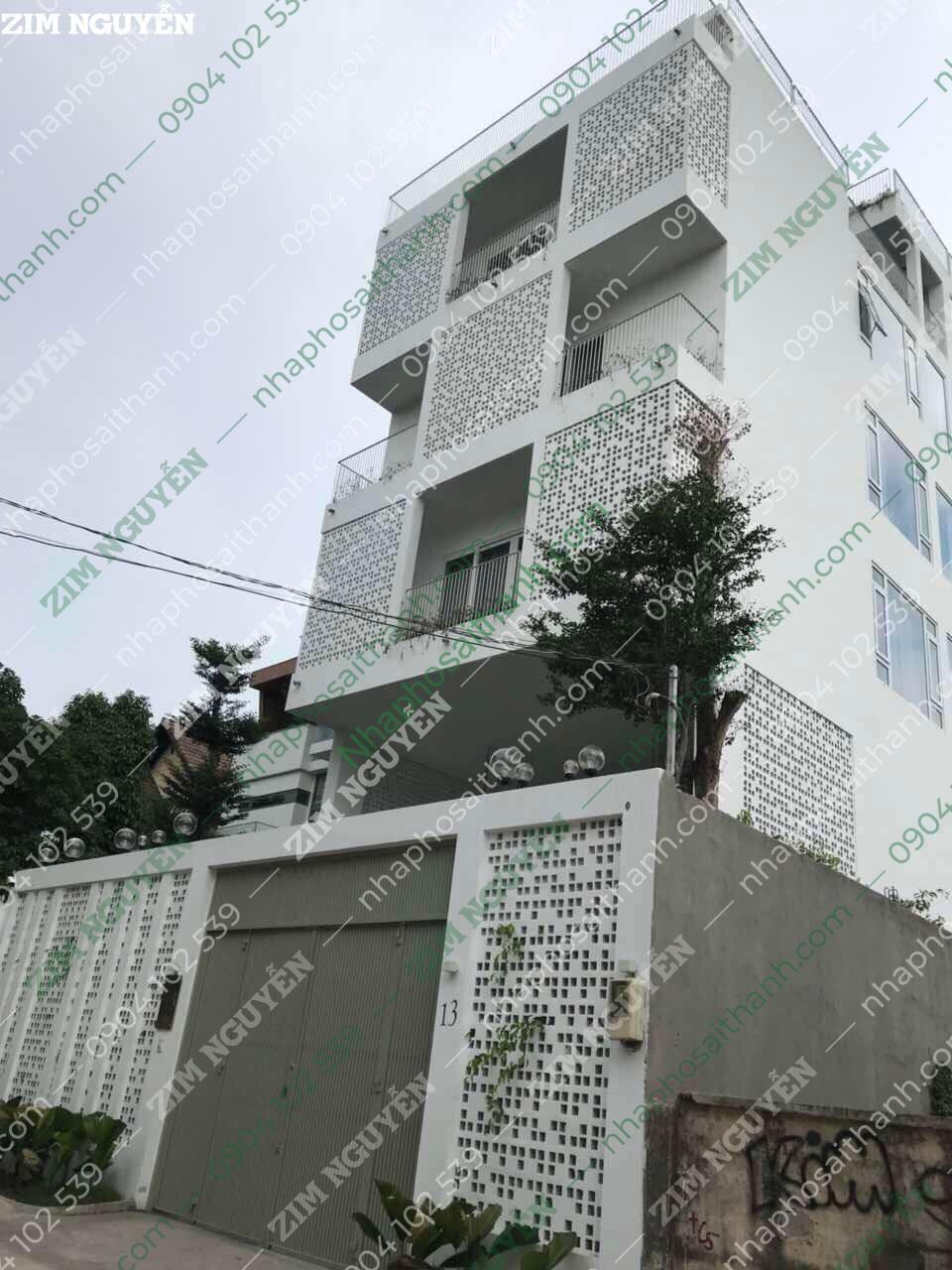 Bán căn hộ dịch vụ đường số 12 Thảo Điền