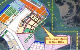 Bán dự án Cảng Quốc tế Sao Biển 68ha xã Phú Mỹ, Tân Thành, Bà Rịa – Vũng Tàu