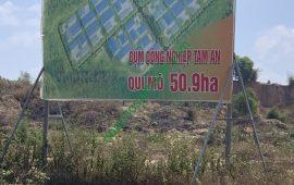 Dự án Cụm công nghiệp 50.9ha Tam An, huyện Long Thành, tỉnh Đồng Nai